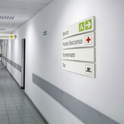 wall sign pixquick wall 105x600mm